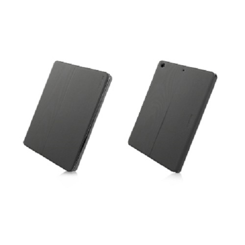 CAPDASE Folder Case Sider Baco Series for Apple iPad Air [FCAPIPAD5-1B11] - Black - Casing Tablet / Case